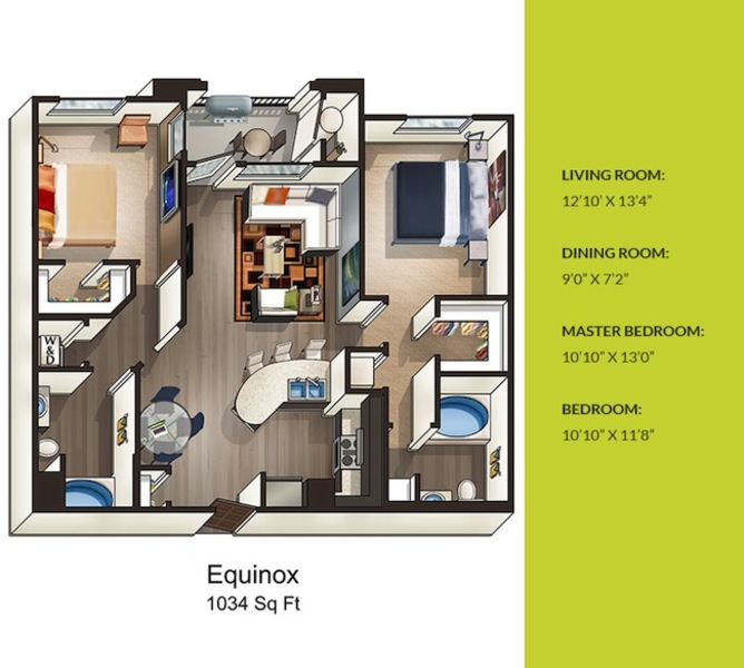 Solterra EcoLuxury Apartments For Rent In San Diego CA